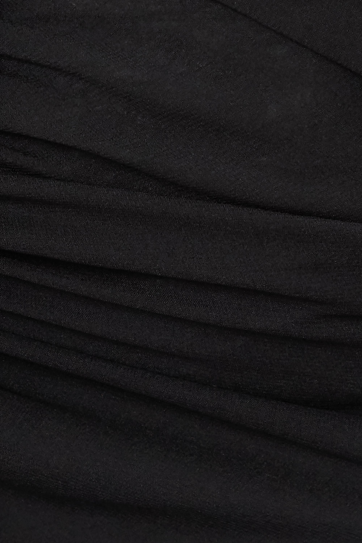 Sleeping with Jacques The Bronte Nachthemd aus Chiffon aus einer Seidenmischung mit Raffungen