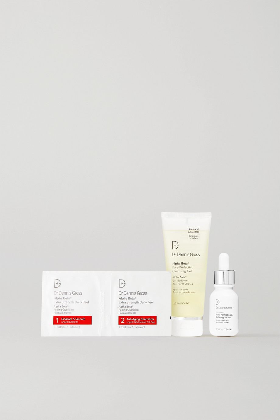 Dr. Dennis Gross Skincare Kit anti-pores dilatés Alpha Beta®