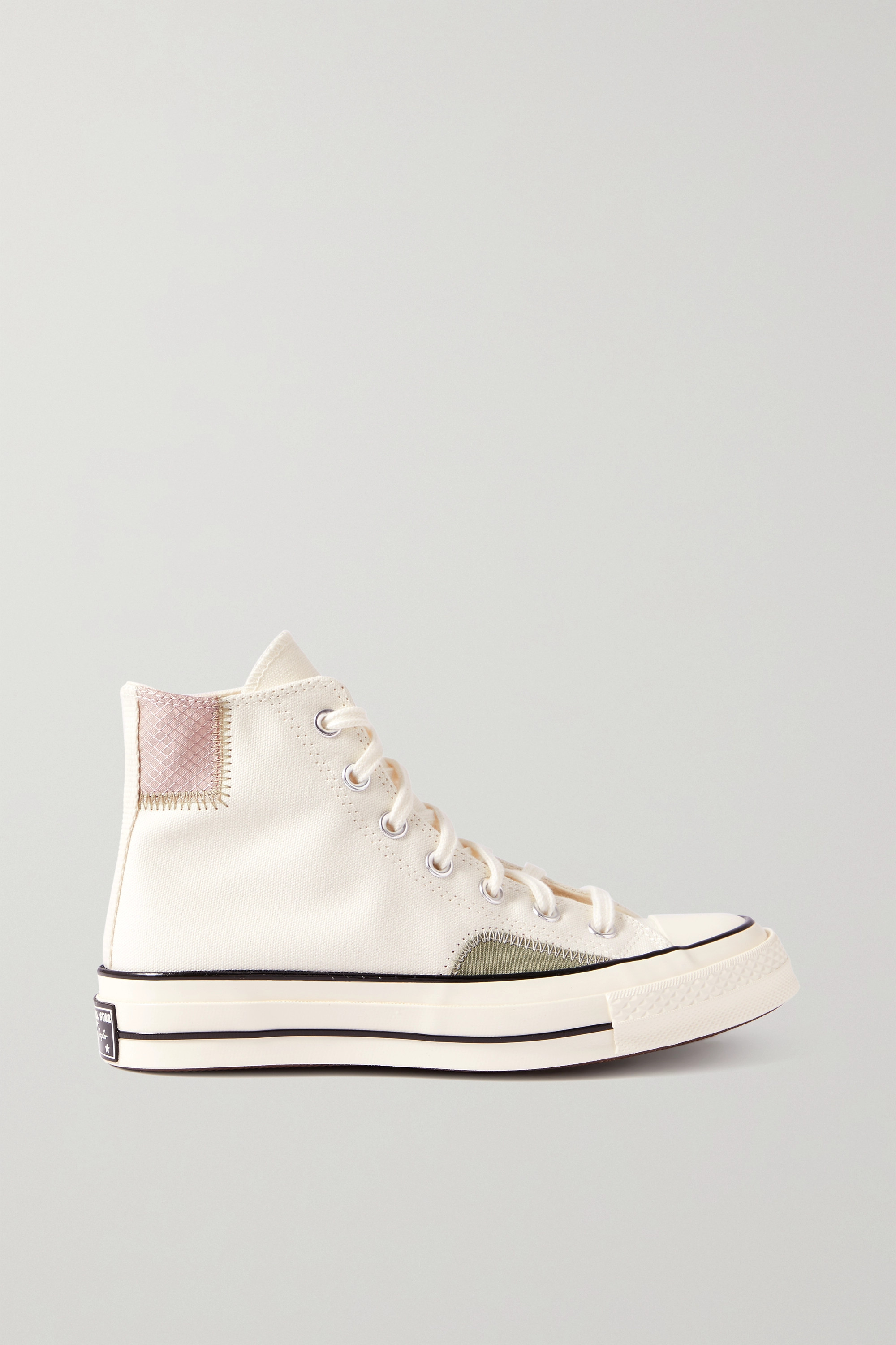 Converse Chuck Taylor All Star 70 canvas and ripstop high-top sneakers