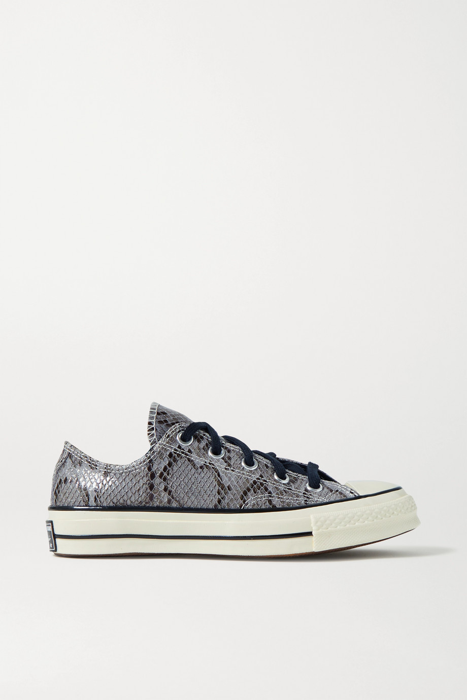 Converse Chuck Taylor All Star 70 snake-effect leather sneakers