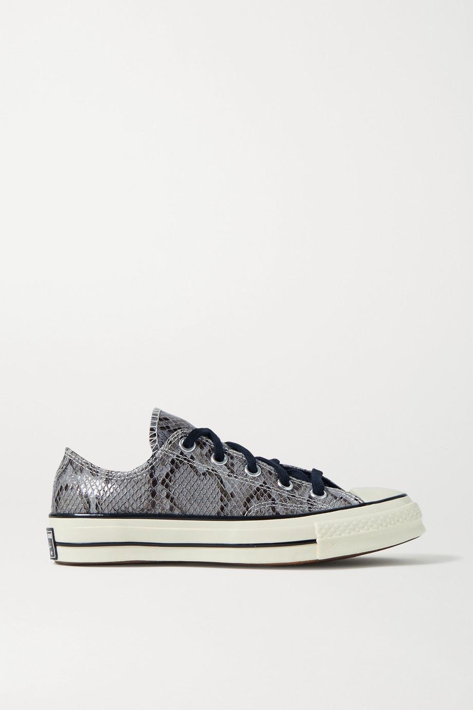 Converse Chuck Taylor All Star 70 Sneakers aus Leder mit Schlangeneffekt