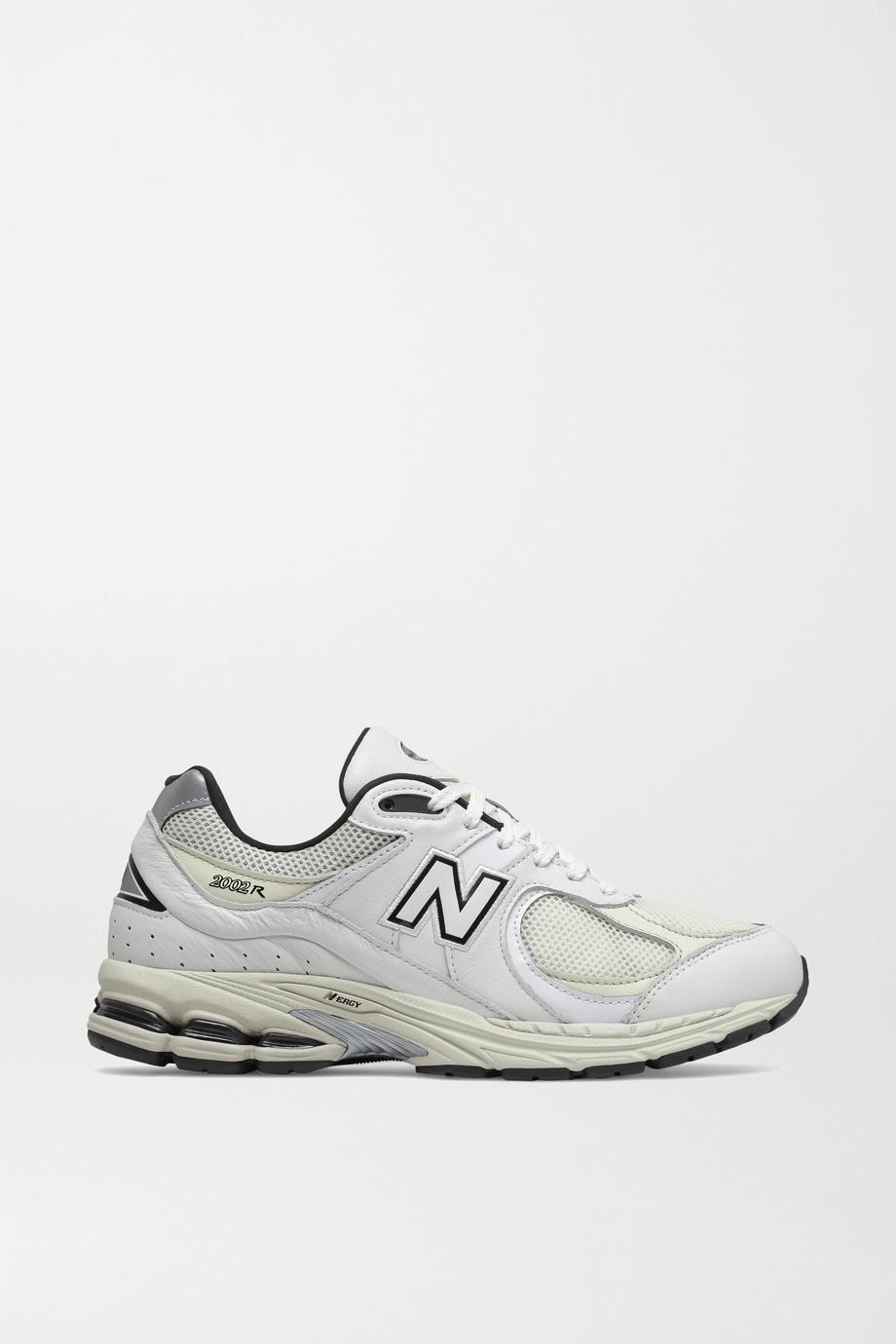 New Balance 2002 Sneakers aus Veloursleder und Mesh