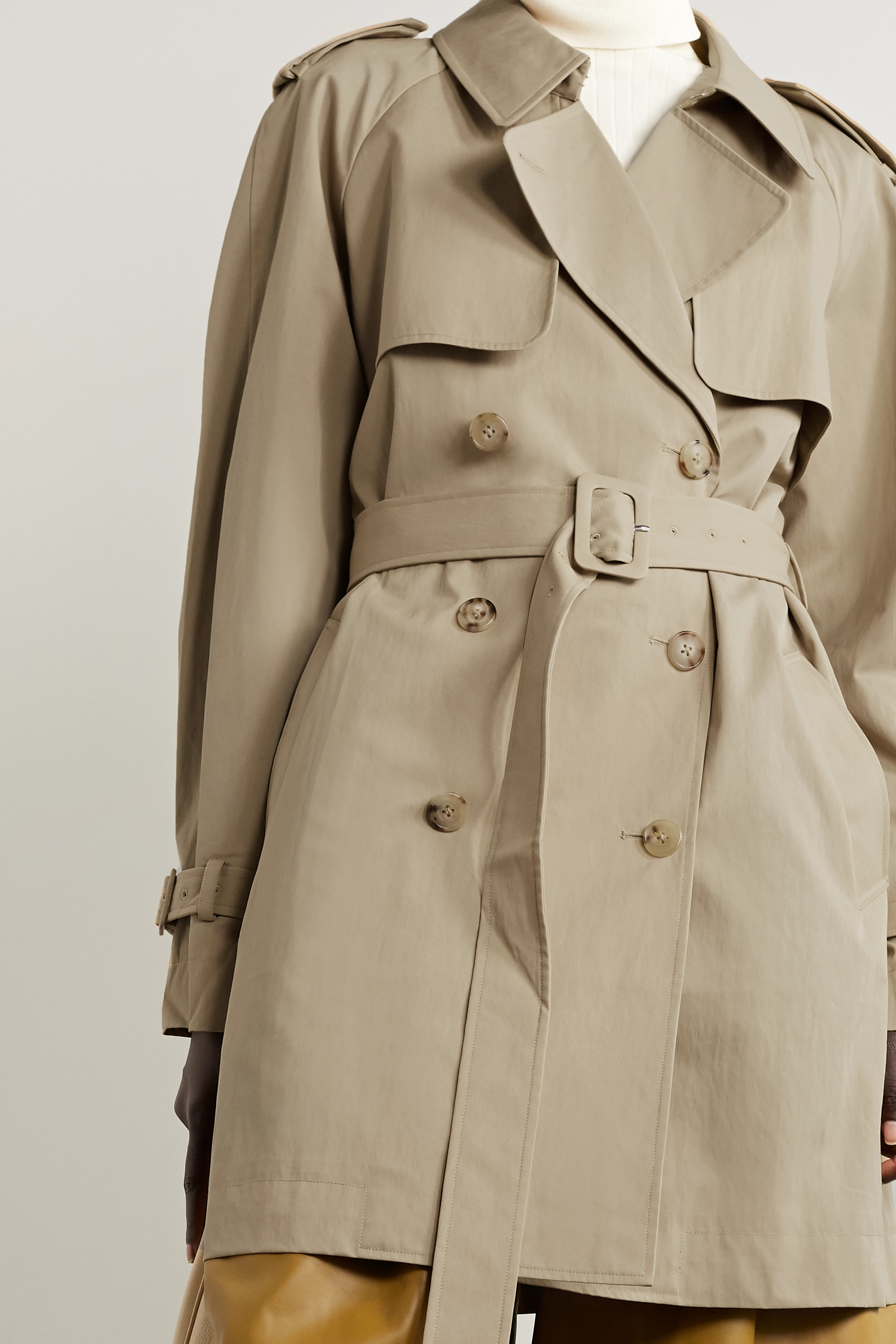 Co Cotton-blend trench coat