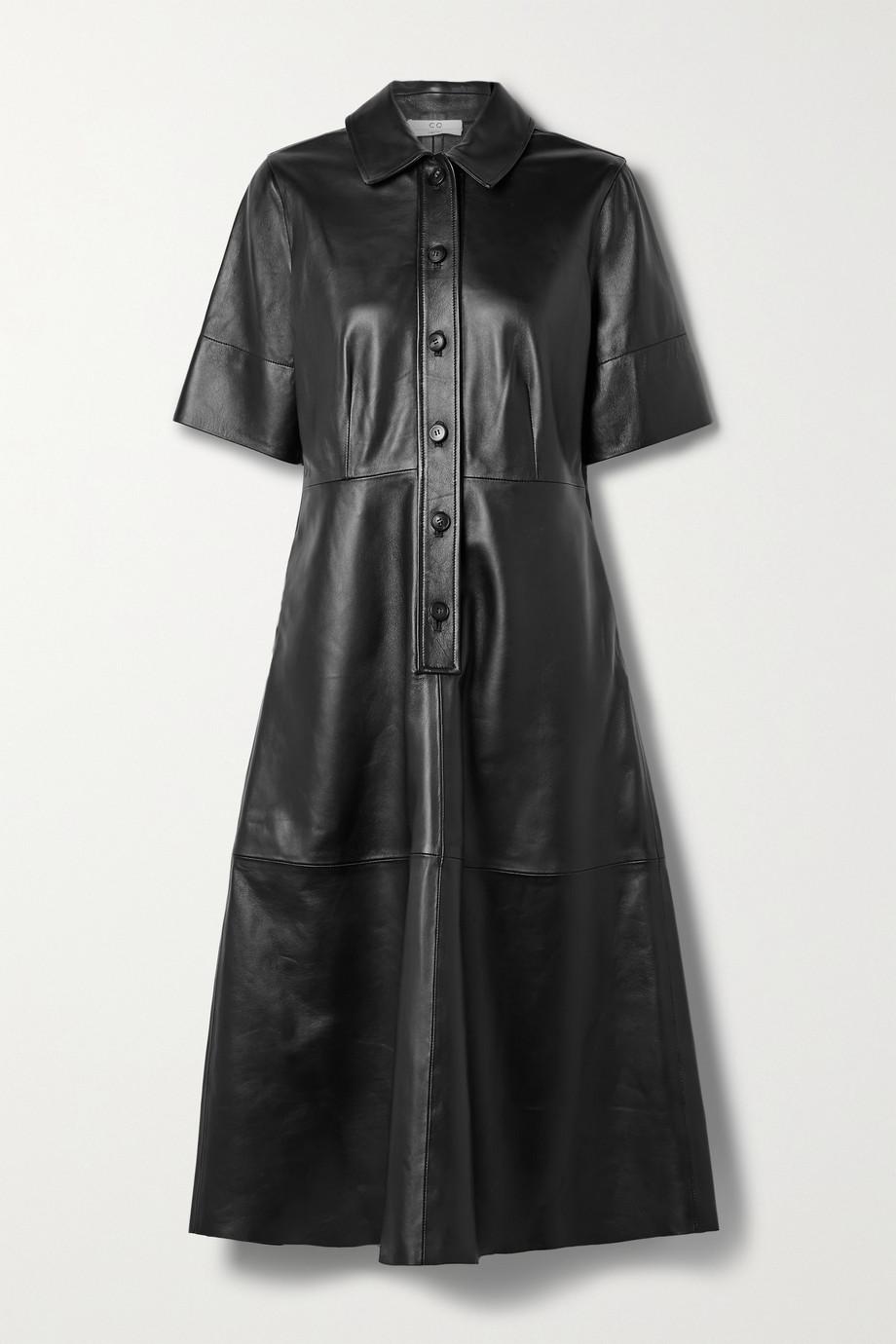 Co Robe-chemise en cuir