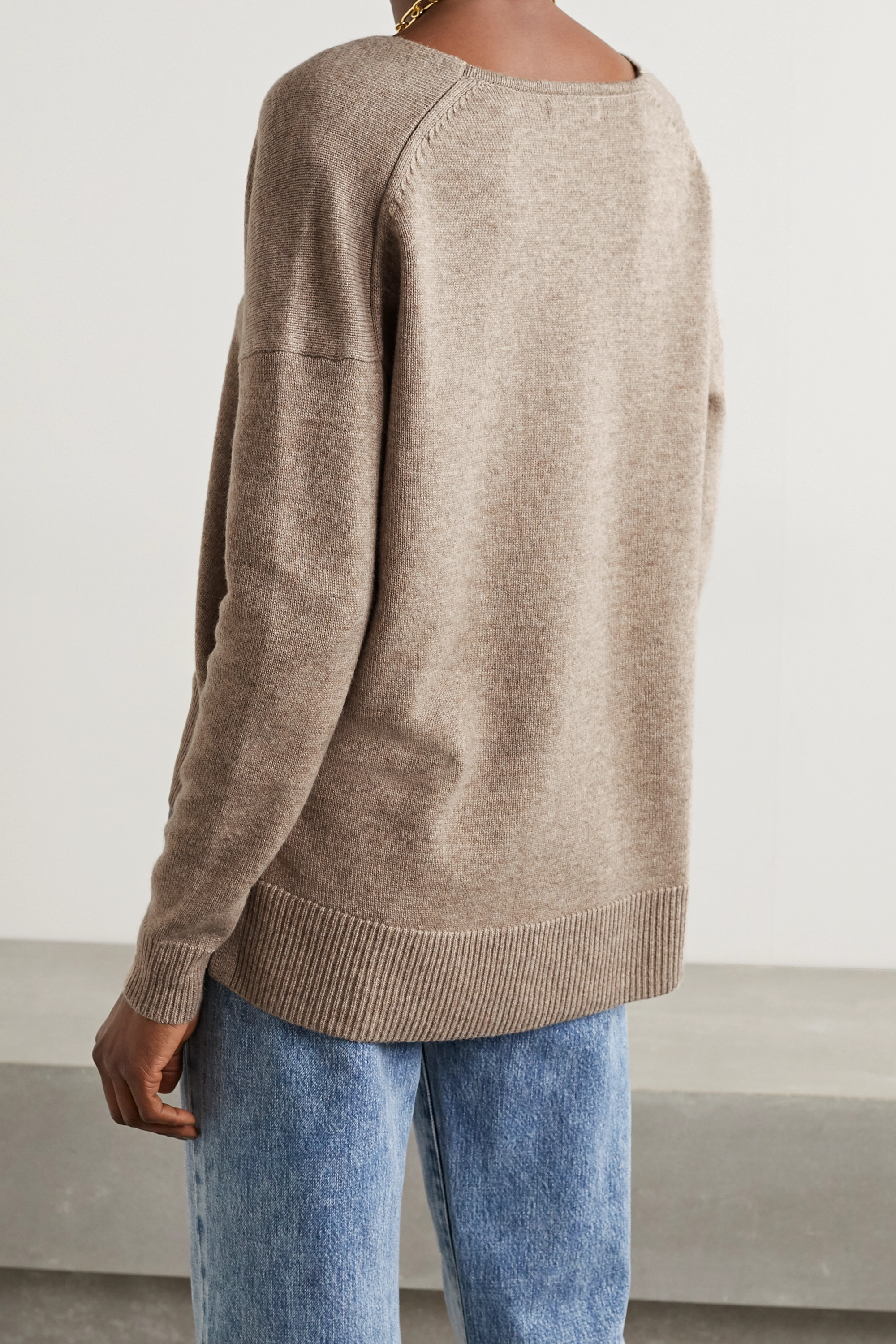 Co Wool and cashmere-blend sweater