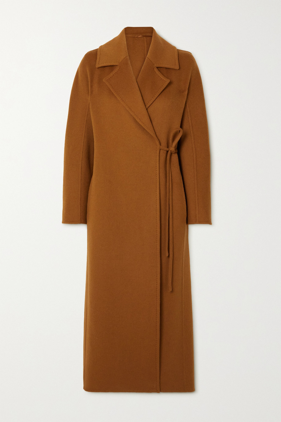 Max Mara Camel hair wrap coat