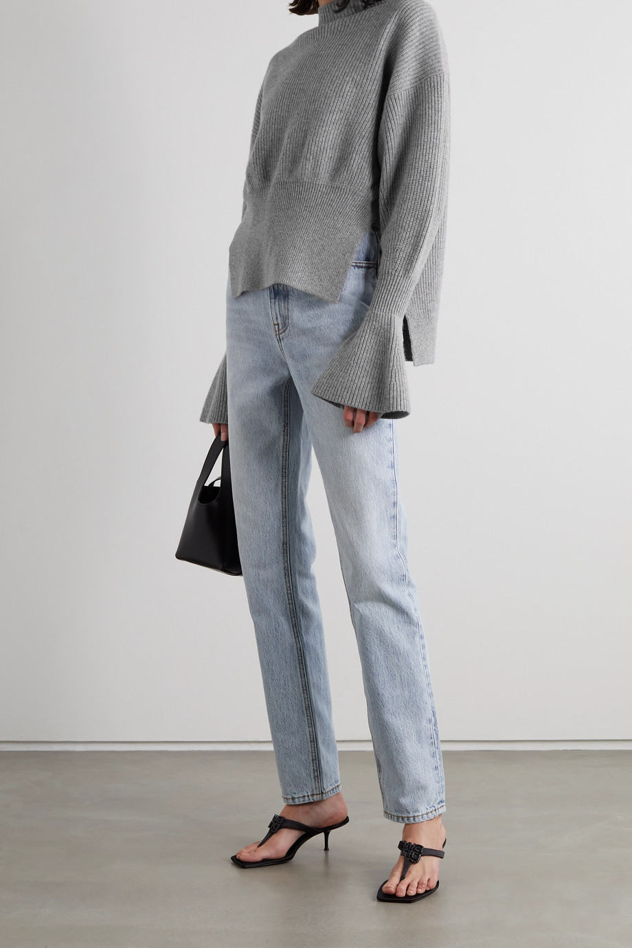 Alexander Wang Ribbed wool-blend sweater