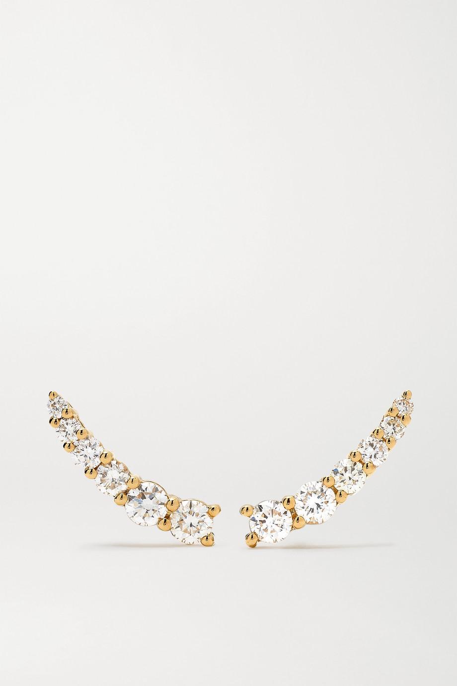 Anita Ko Boucles d'oreilles en or 18carats et diamants