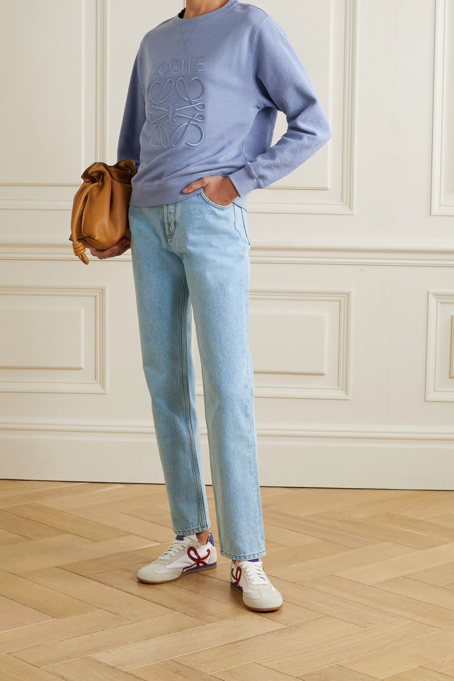 Loewe High-rise tapered jeans