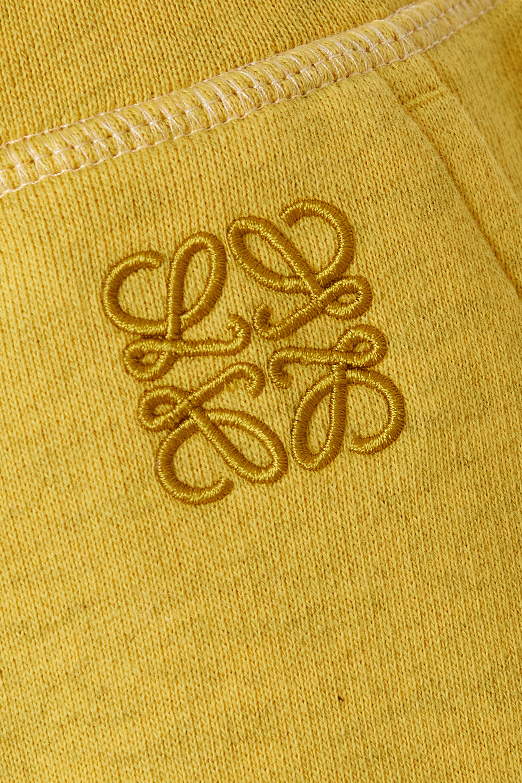 Loewe Striped cotton-jersey track pants