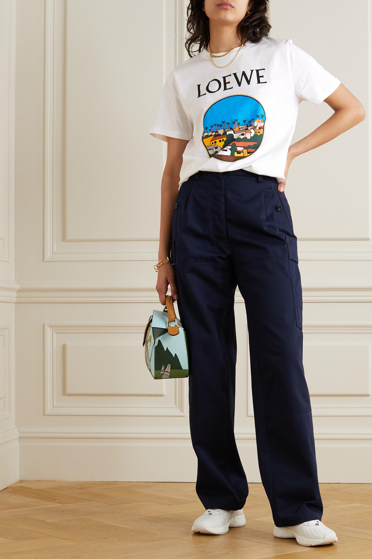 Loewe + Ken Price LA Series printed cotton-jersey T-shirt