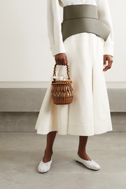 Loewe Fringes woven leather tote