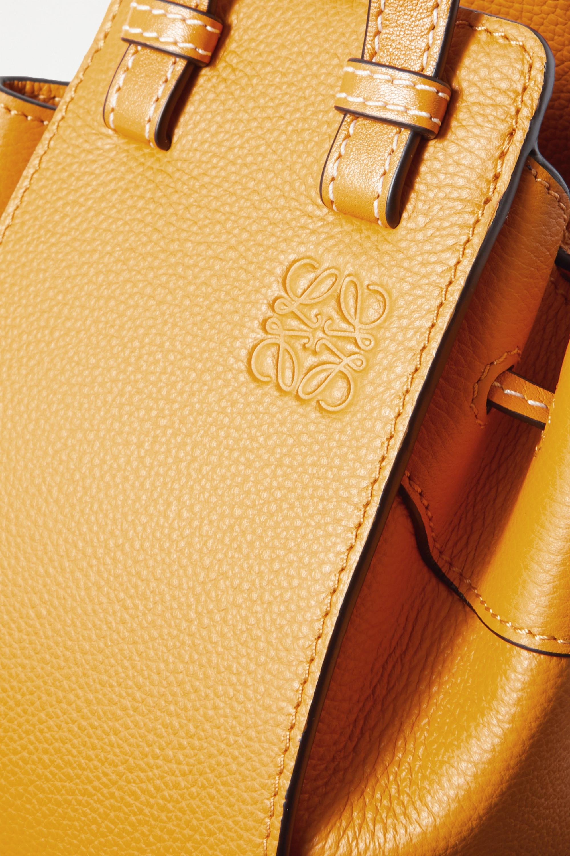 Loewe Hammock Dw mini textured-leather shoulder bag