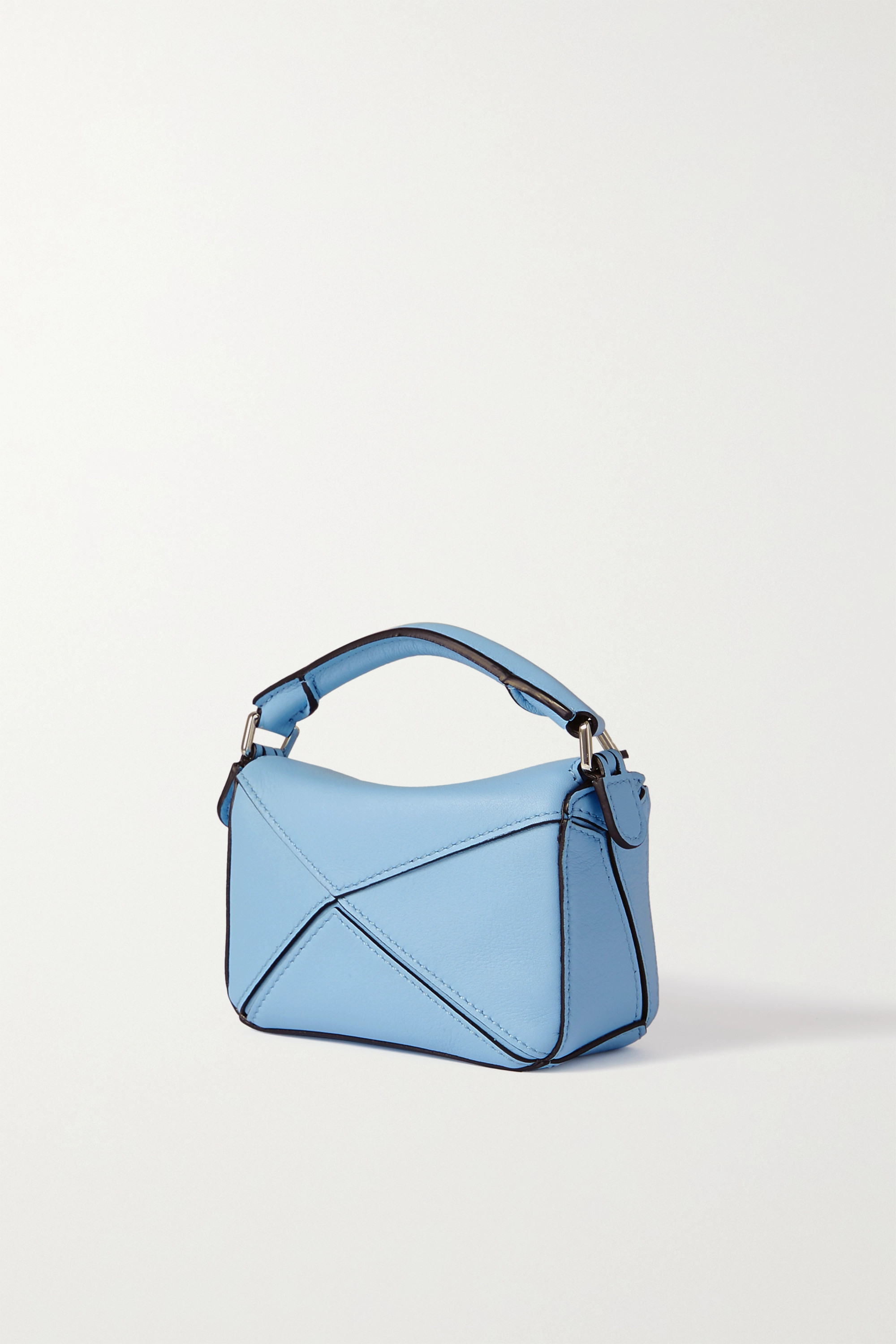 Loewe Puzzle nano textured-leather shoulder bag