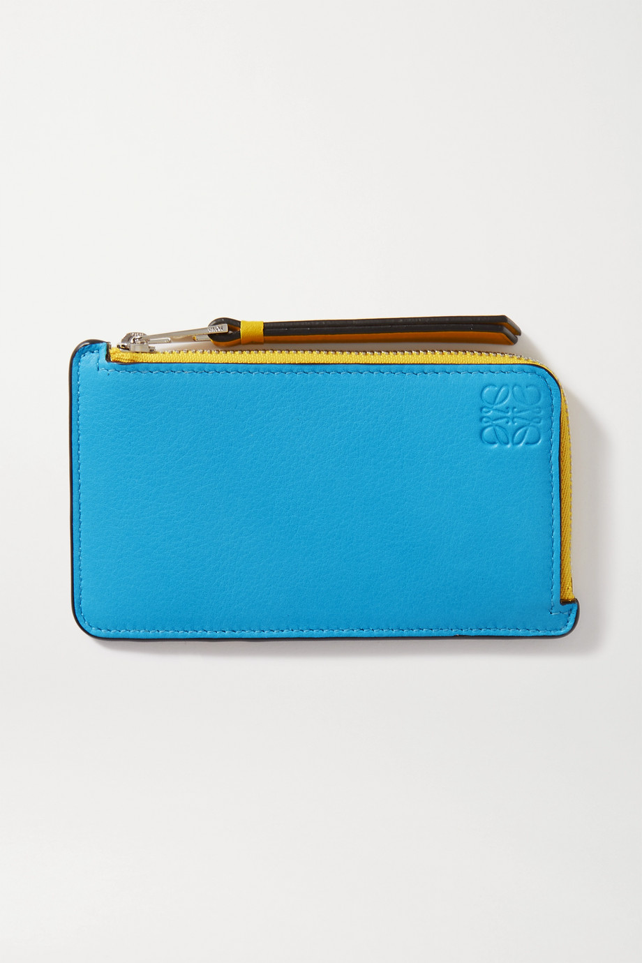 Loewe Puzzle color-block leather cardholder