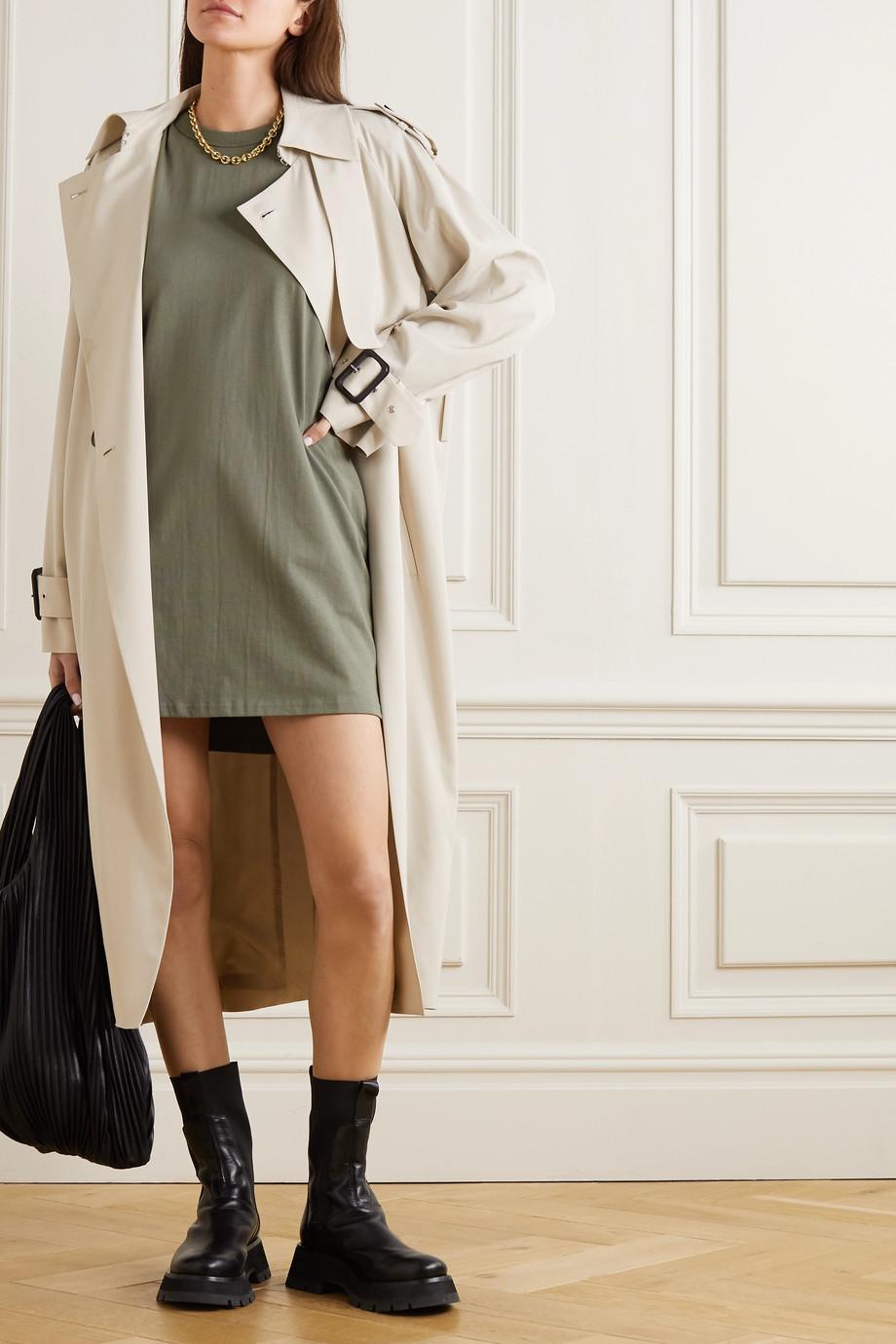 Frankie Shop Tina cotton-jersey mini dress