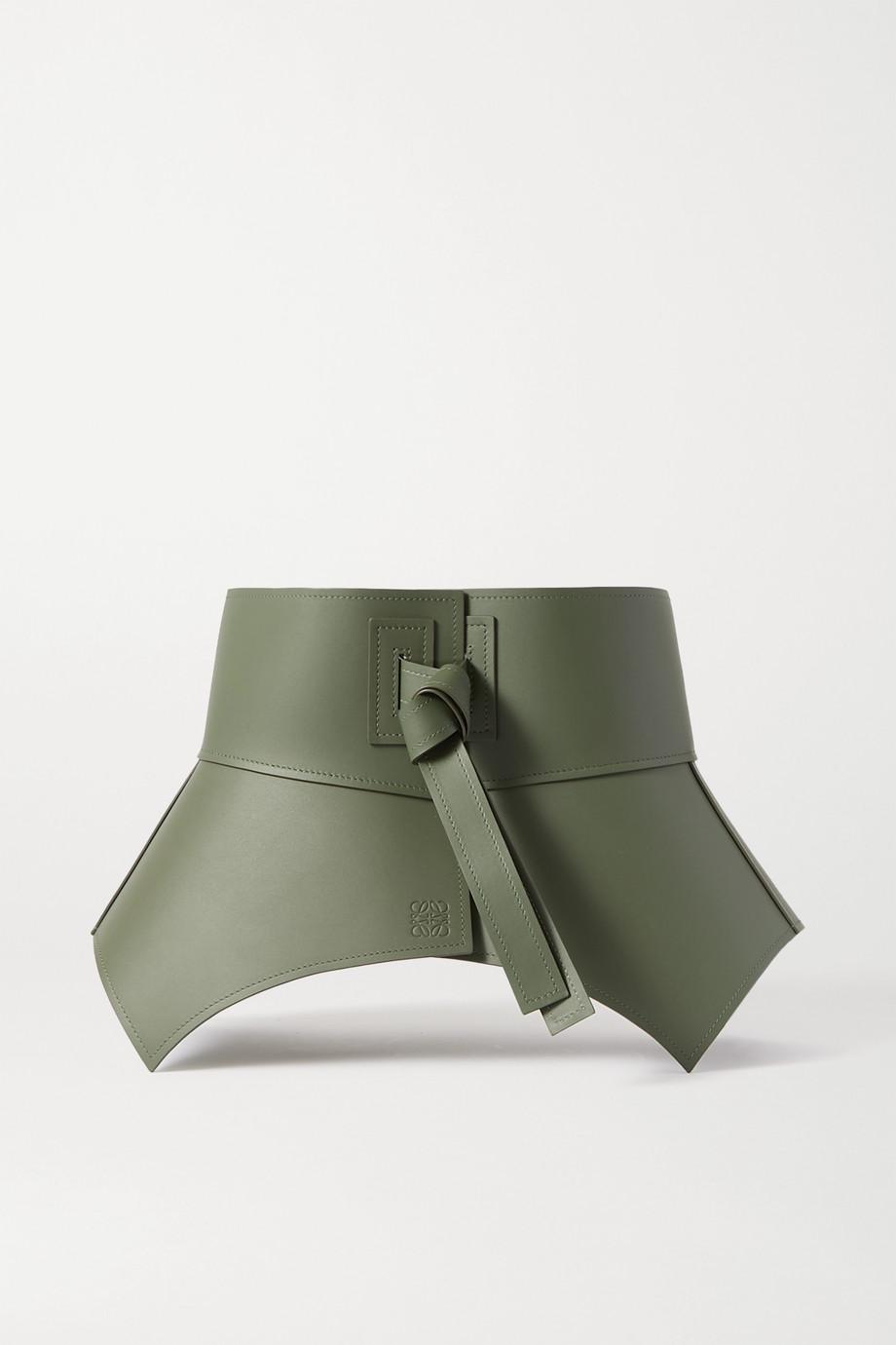 Loewe Obi Taillengürtel aus Leder