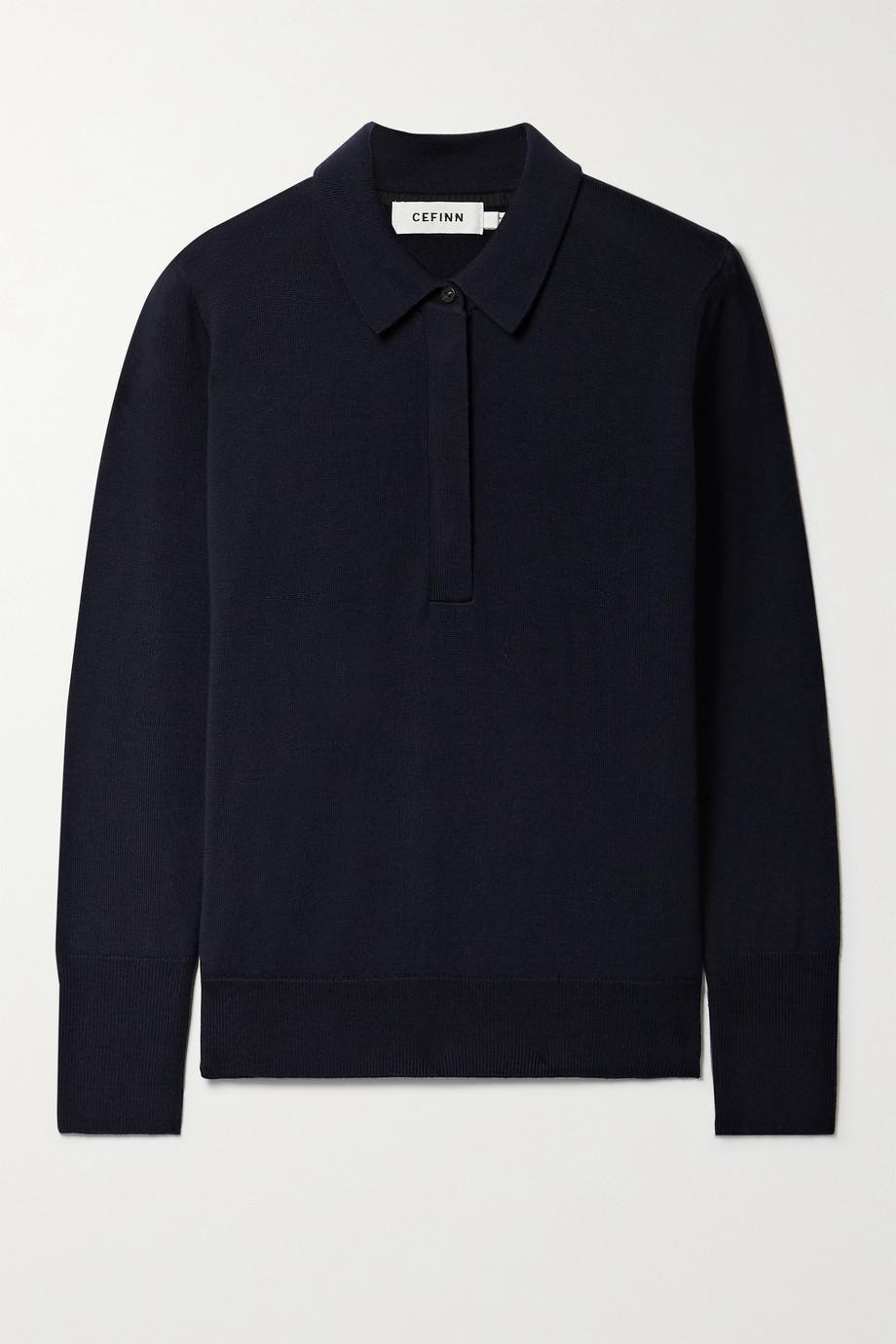 Cefinn Josie wool polo shirt
