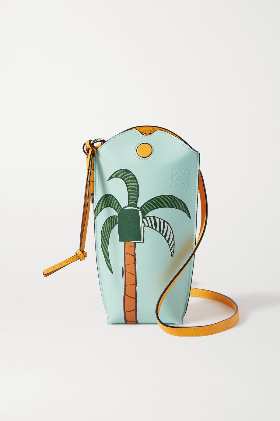 Loewe + Ken Price La Palme Gate Pocket leather shoulder bag