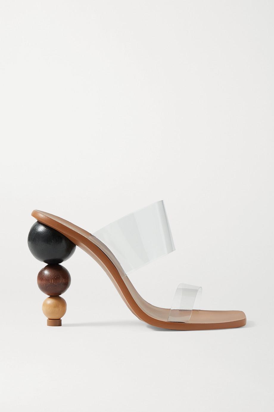 Cult Gaia Vita PVC sandals