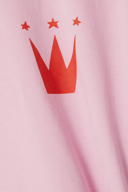 Bella Freud King of Kings printed organic cotton-jersey T-shirt