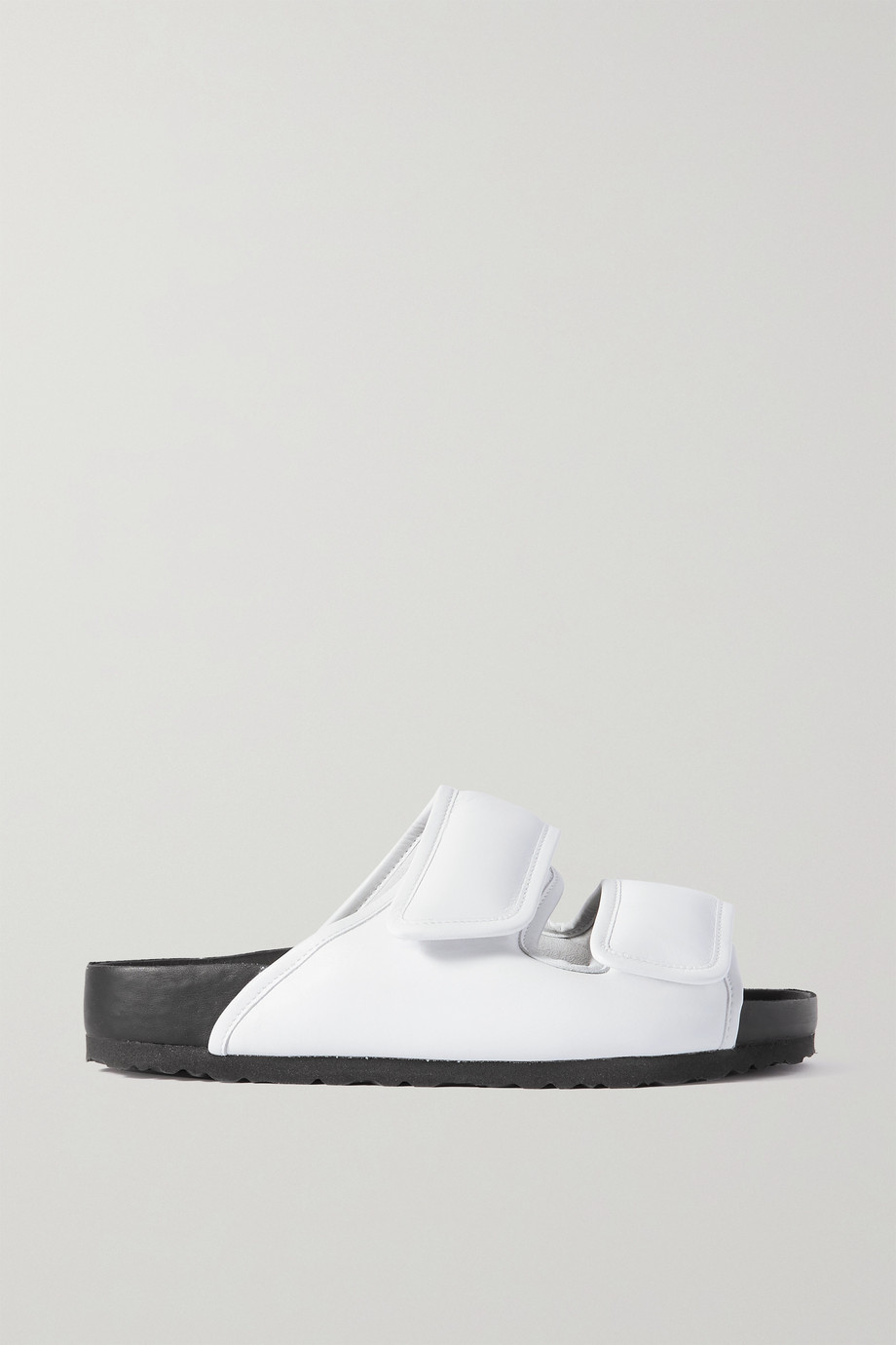 Birkenstock 1774 + Ding Yun Zhang padded leather sandals