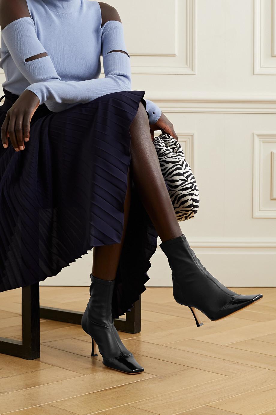 A.W.A.K.E. MODE Bernie Ankle Boots aus Kunstleder
