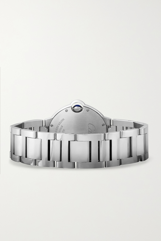 Cartier Ballon Bleu de Cartier 36.6 毫米精钢腕表
