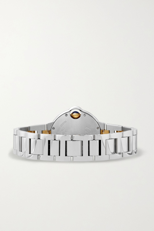 Cartier Ballon Bleu de Cartier Automatic 33 毫米 18K 黄金精钢腕表