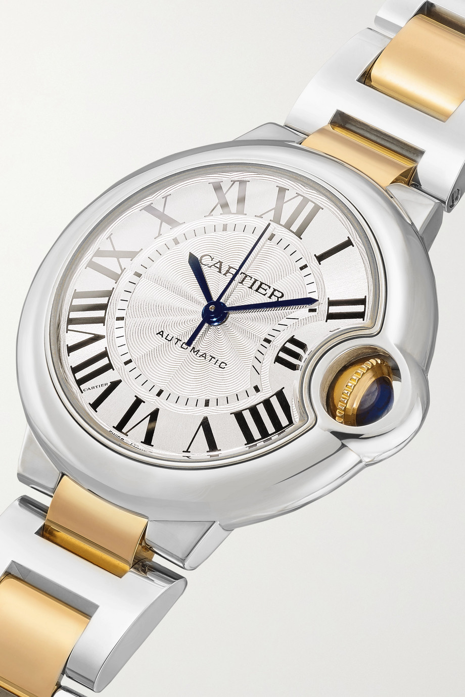 Cartier Ballon Bleu de Cartier Automatic 33mm 18-karat gold and stainless steel watch