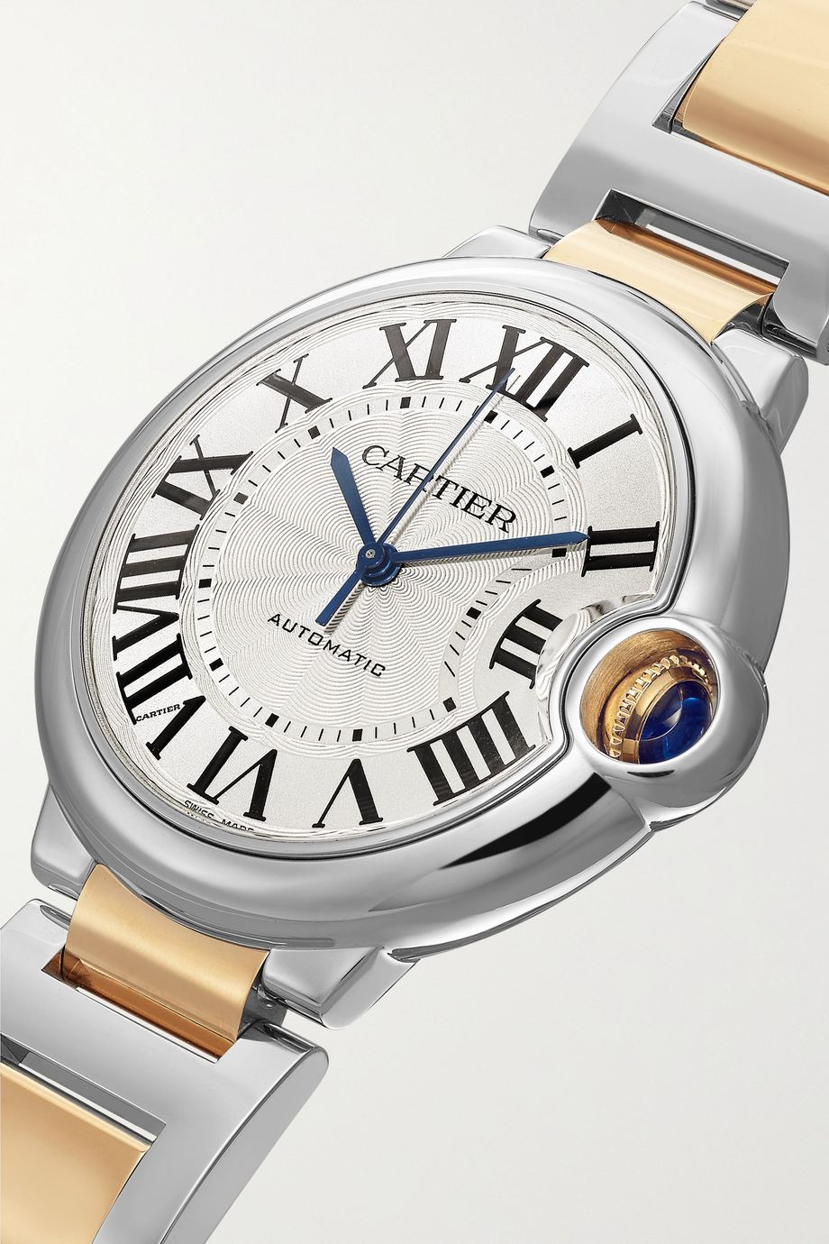 Cartier Ballon Bleu de Cartier Automatic 36.6mm 18-karat gold and stainless steel watch