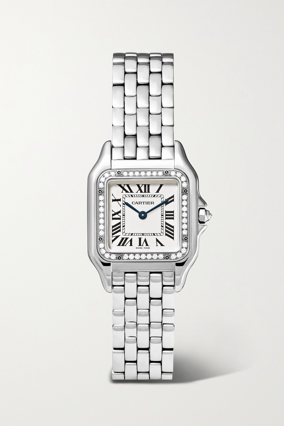 Cartier Panthère de Cartier 22mm small stainless steel and diamond watch