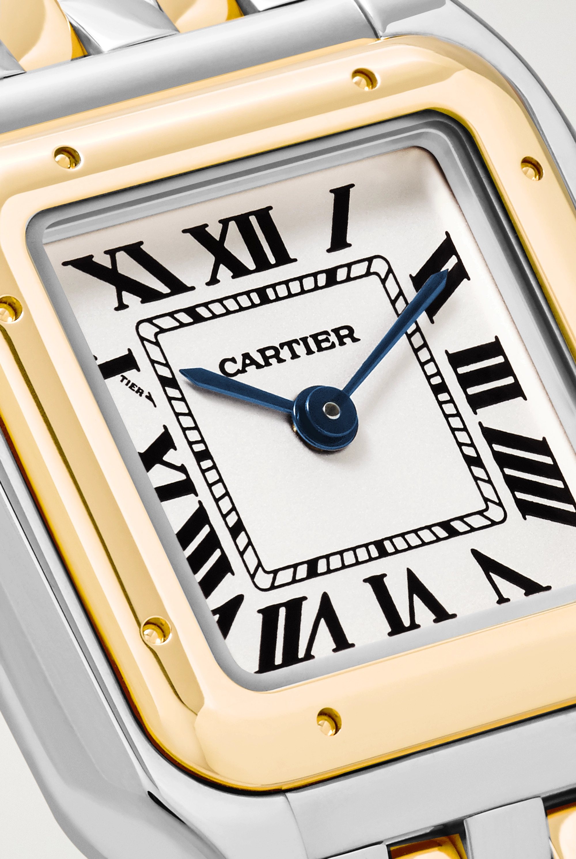 Cartier Panthère de Cartier 22mm small 18-karat gold and stainless steel watch