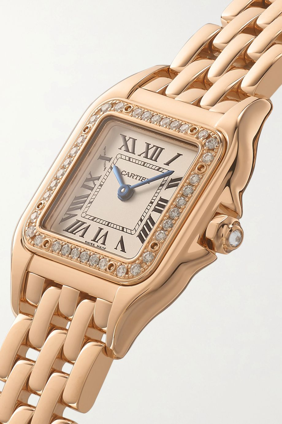 Cartier Panthère de Cartier 22mm small 18-karat pink gold and diamond watch