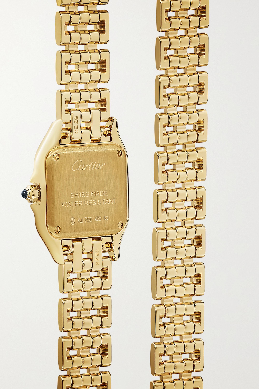 Cartier Panthère de Cartier 22 毫米 18K 黄金小号腕表
