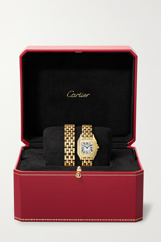 Gold Panthère De Cartier 22mm Small 18-karat Watch |