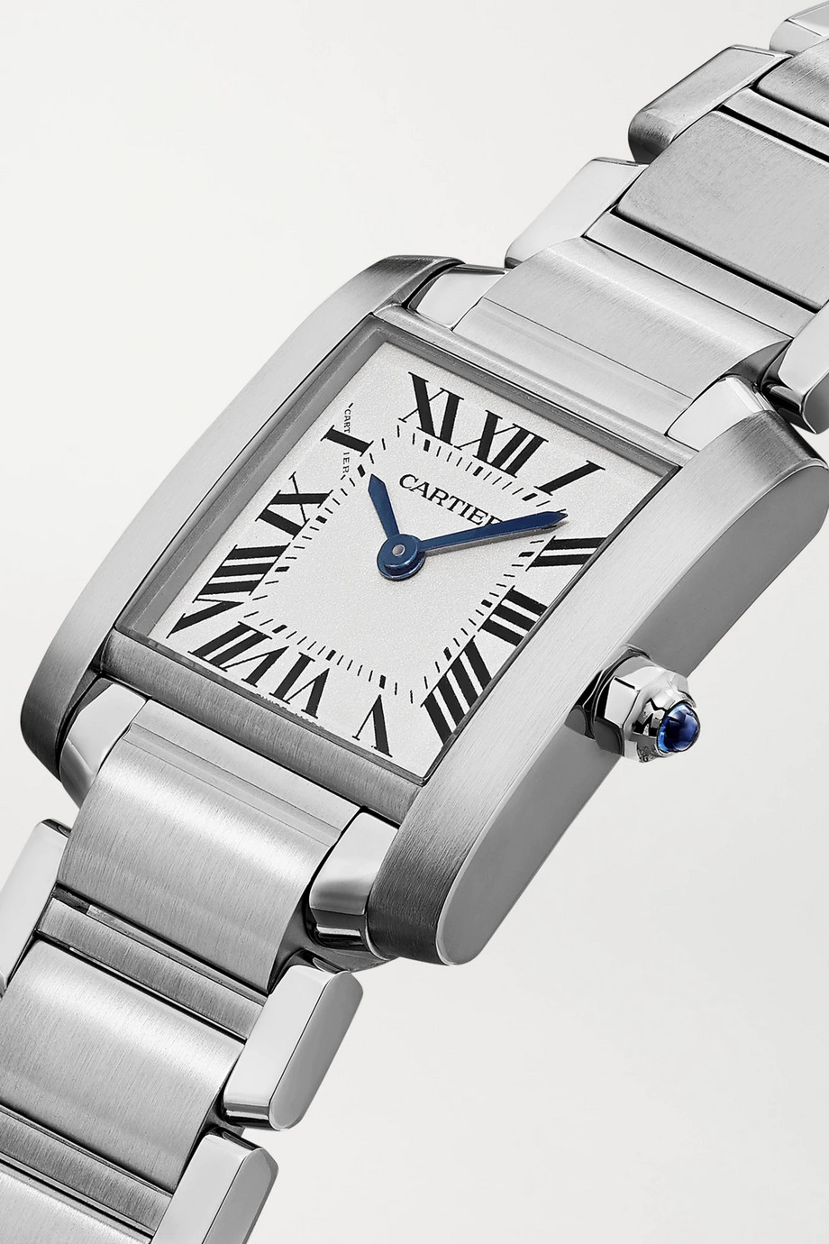 Cartier Tank Française 20mm small stainless steel watch