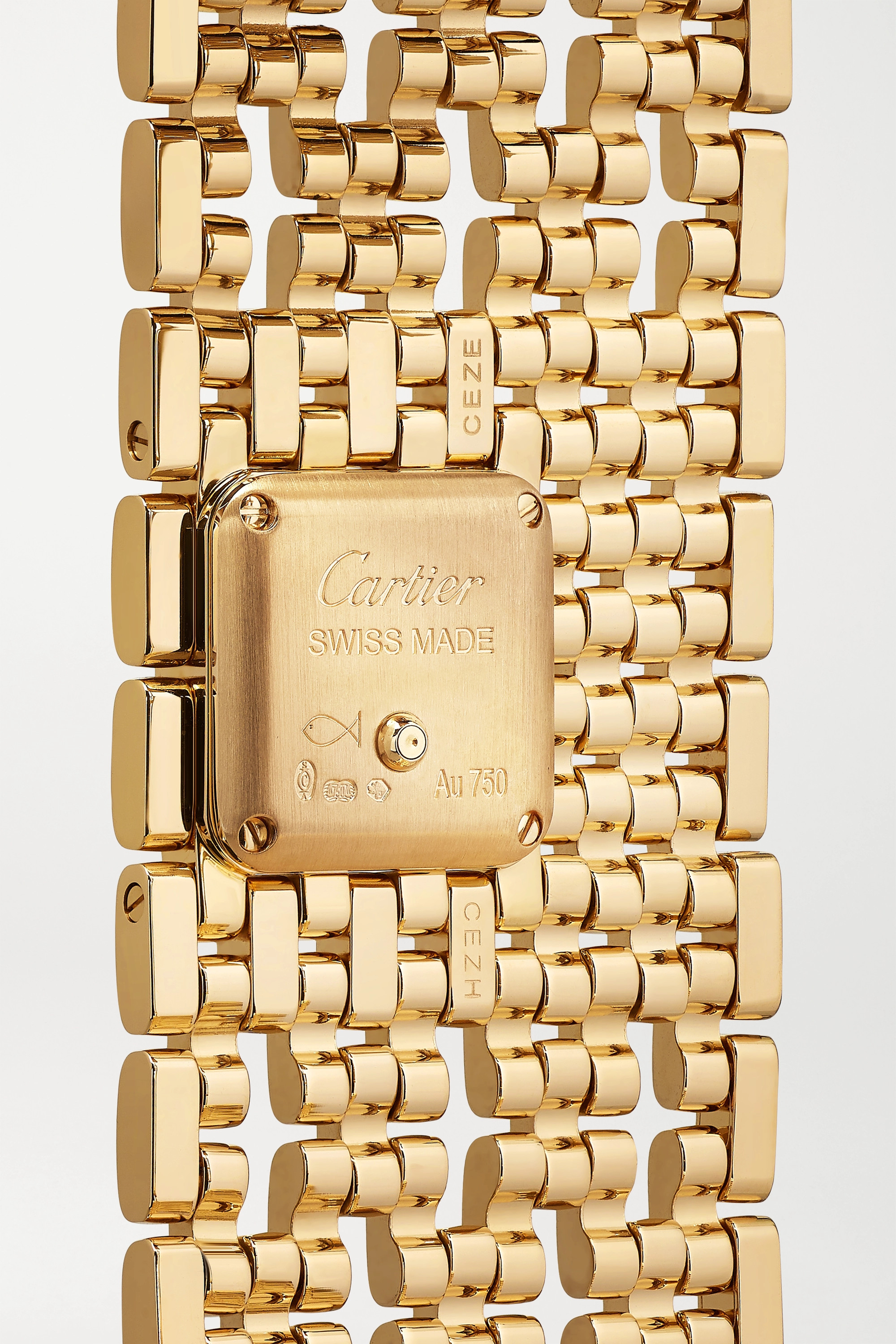 Cartier Panthère de Cartier Manchette 22mm 18-karat gold watch