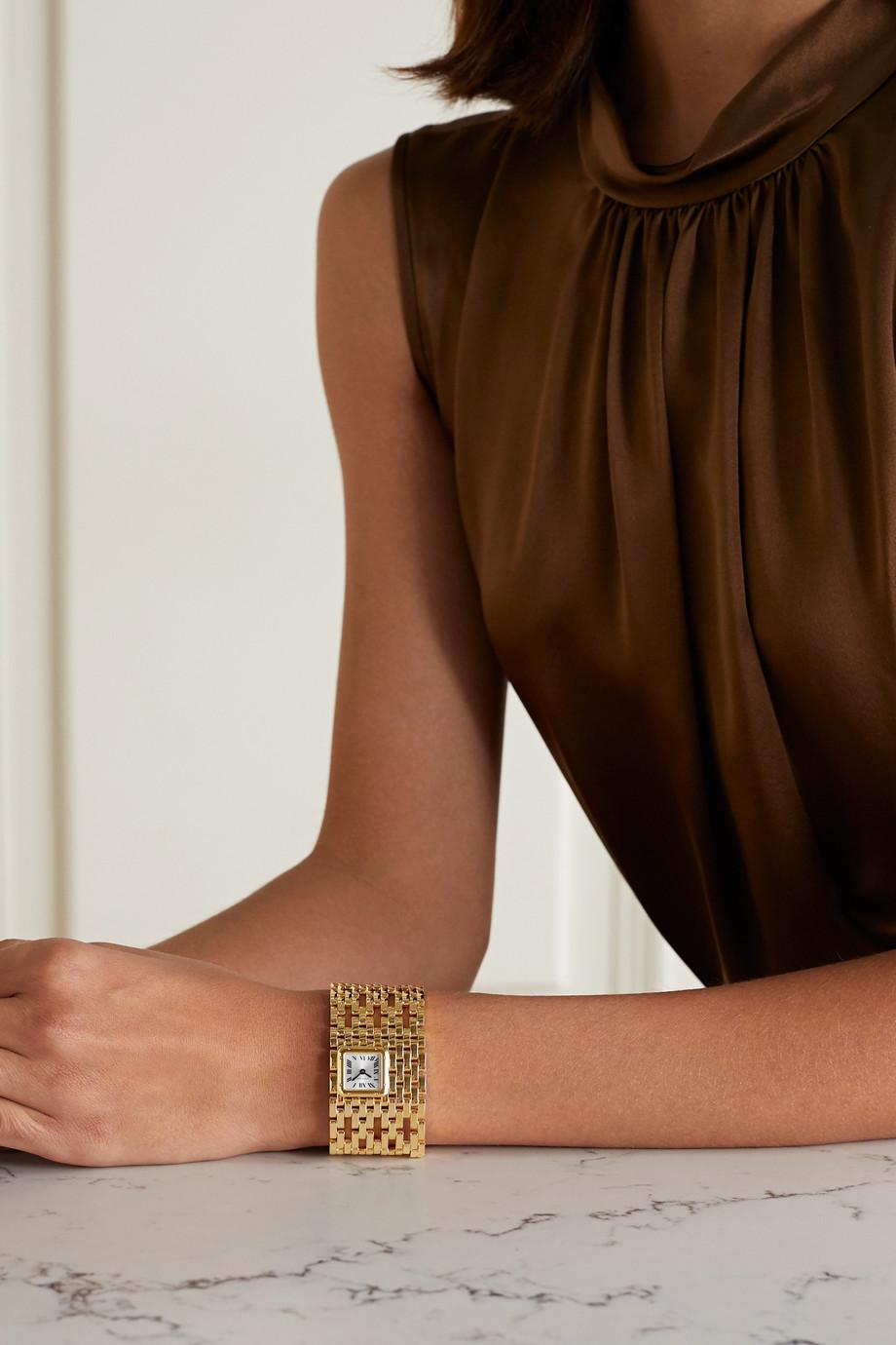 Cartier Panthère de Cartier Manchette 22mm 18-karat gold watch