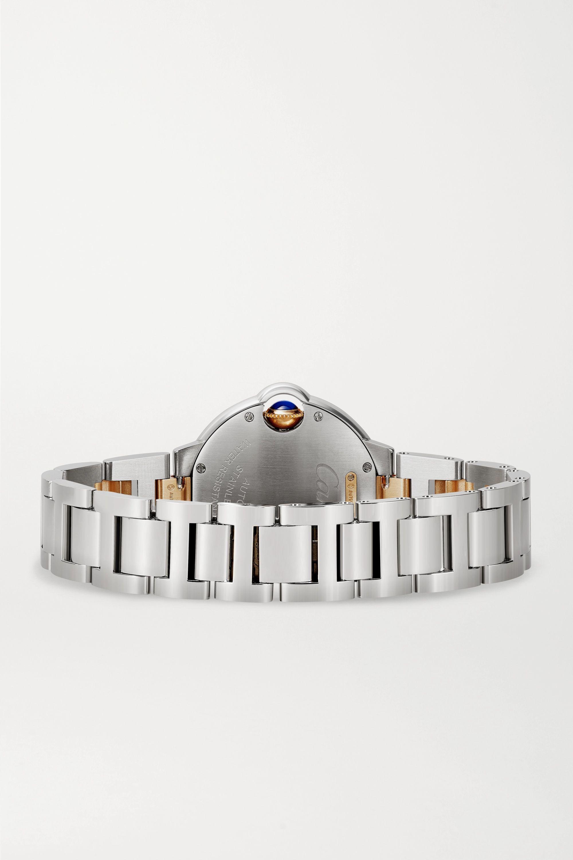 Cartier Ballon Bleu de Cartier Automatic 33mm 18-karat rose gold and stainless steel watch