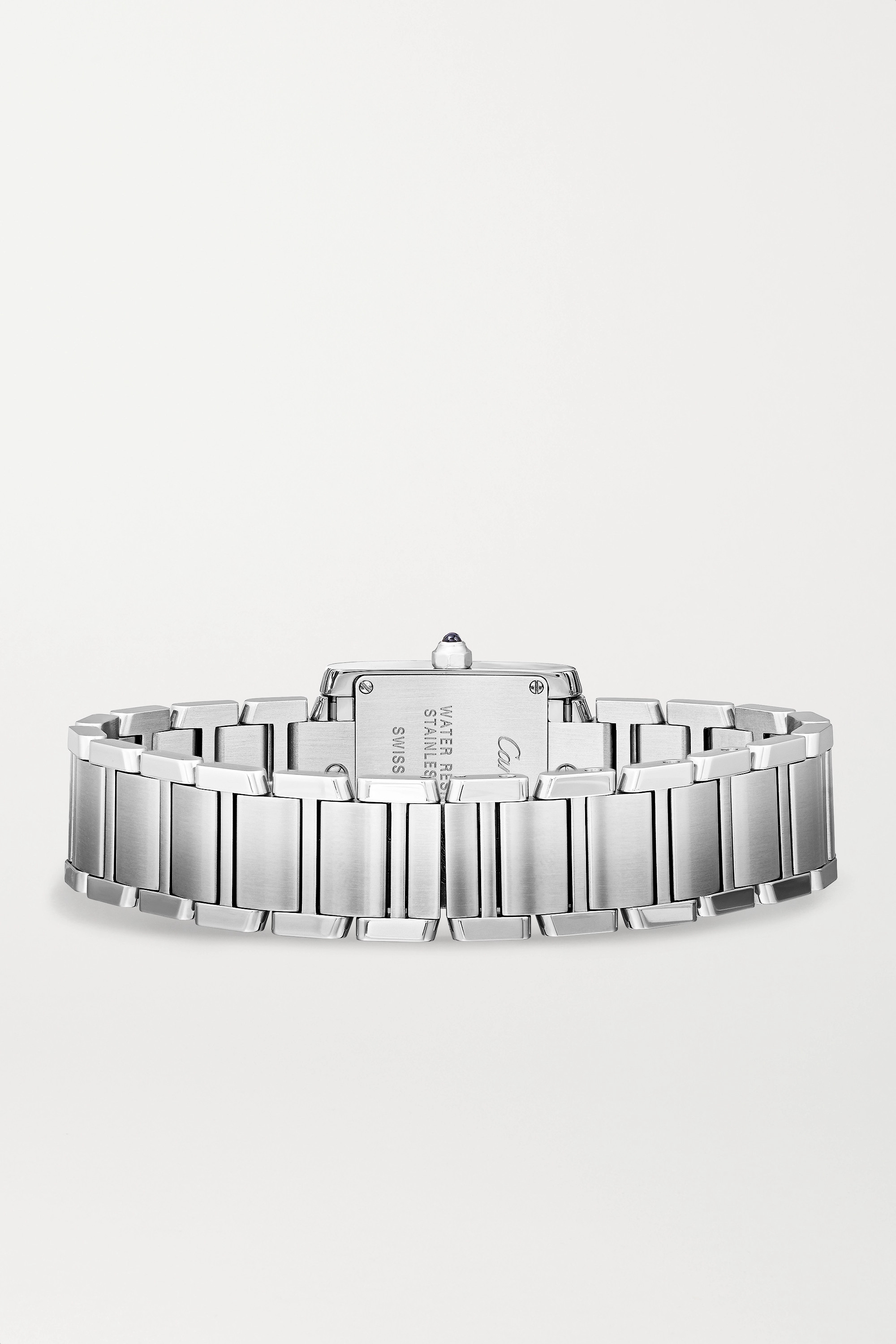 Cartier Tank Française 25.2 毫米精钢钻石小号腕表