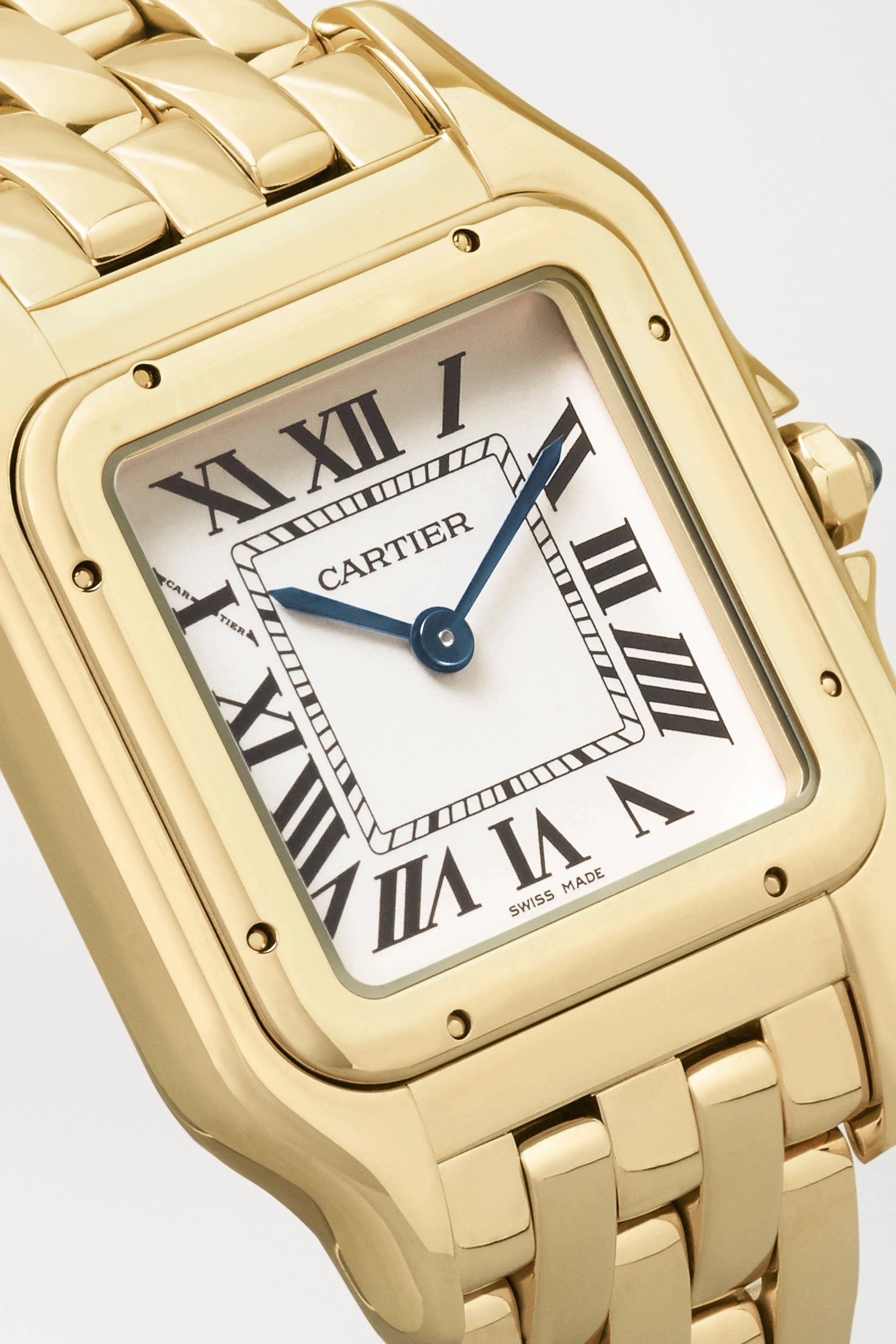 Cartier Panthère de Cartier 27mm medium 18-karat gold watch