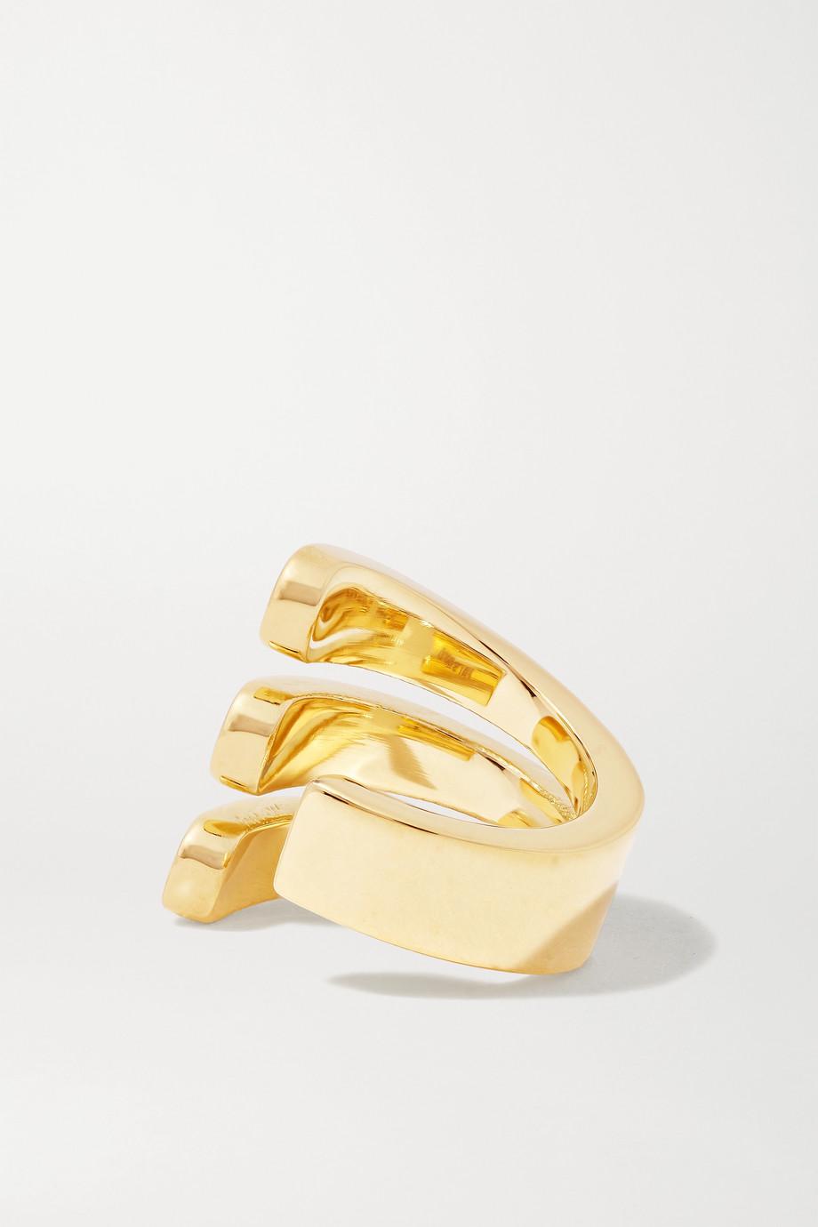 Melissa Kaye Aria Ear Cuff aus 18 Karat Gold