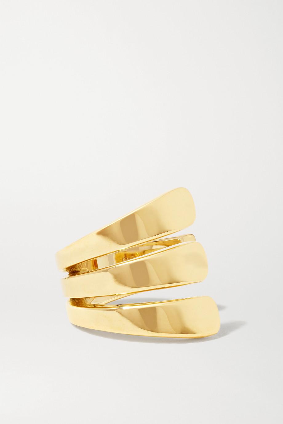 Melissa Kaye Aria 18-karat gold ear cuff