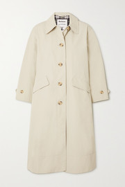 Barbour + ALEXACHUNG Julie belted gabardine coat