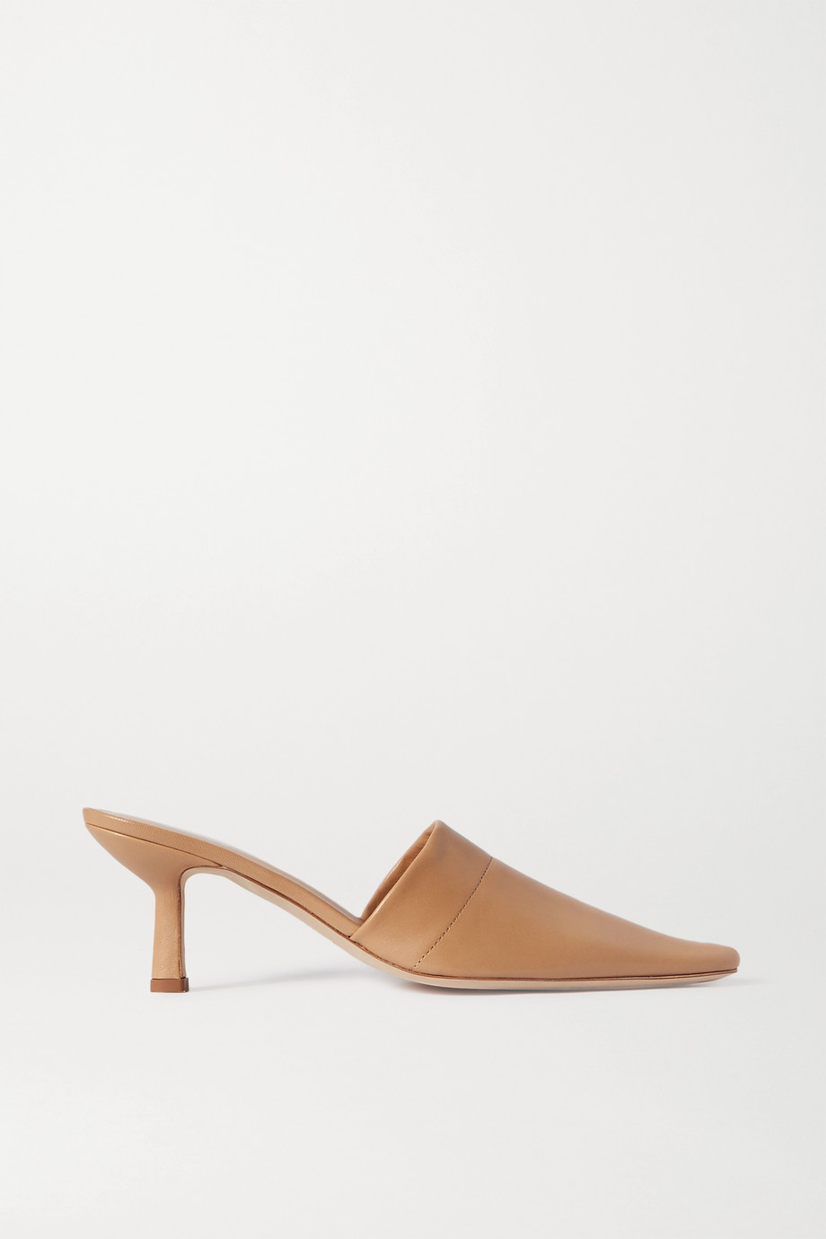 BY FAR Cynthia leather mules