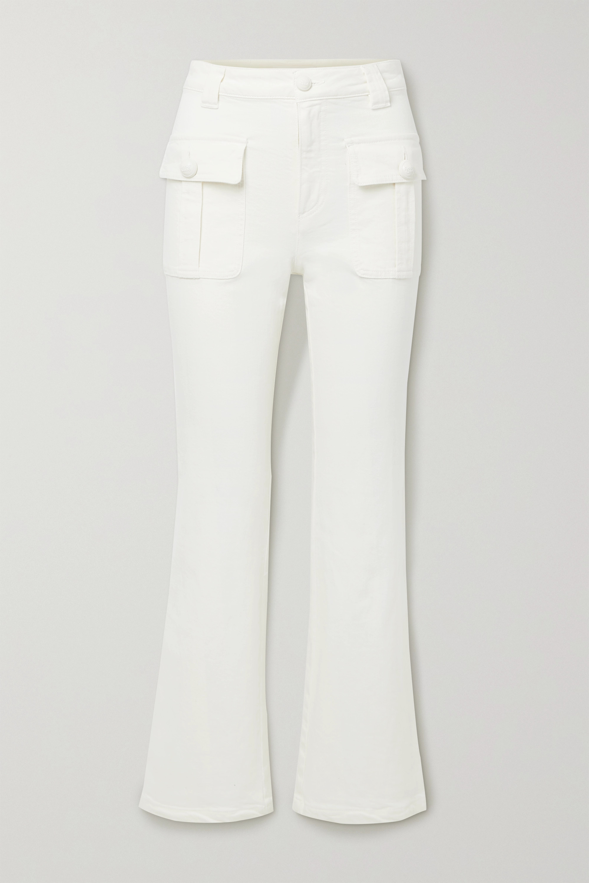 See By Chloé - High-rise flared jeans