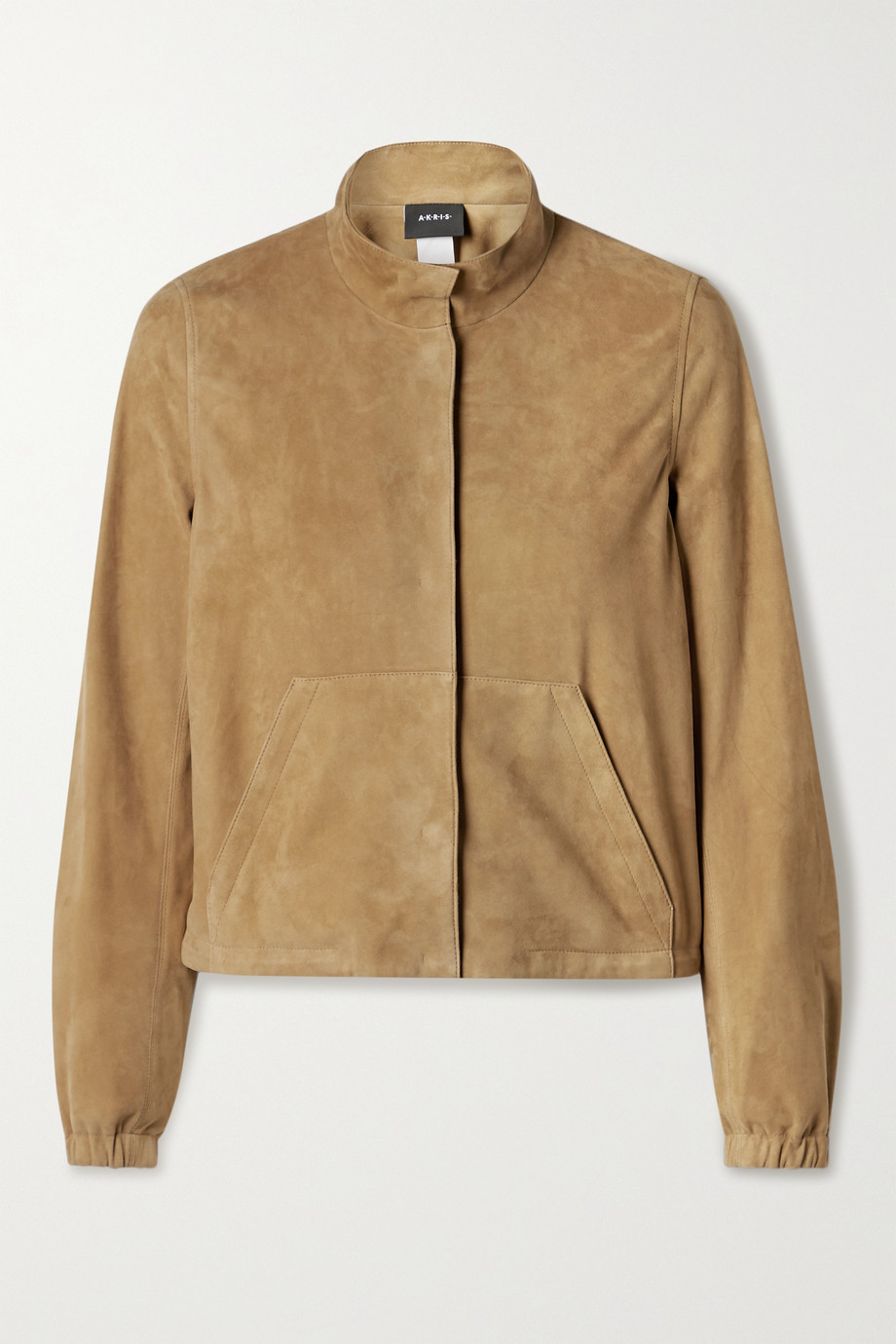 Akris Mabelle suede jacket