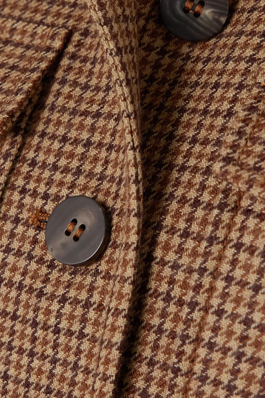 Chloé Houndstooth wool-tweed jacket