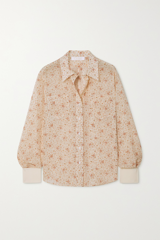 Chloé Hemd aus Seide mit Blumenprint